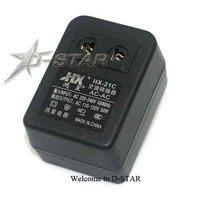 Free Shipping 50W Travel Converter 220/240V to 110/120V HC-21C us plug (give free plug adapter if need)