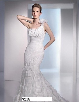 Free Shipping Wedding Dress,Bridal dress, Bridal Wedding dress, Wedding gown, w218