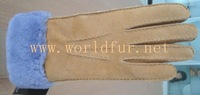 Wholesale!!!Handmade Shearling Gloves,sheepskin Gloves