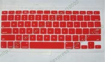"50pcs/lot Free Shipping Clear KeyBoard Silicon Cover Skin For 13.3"" MacBook"