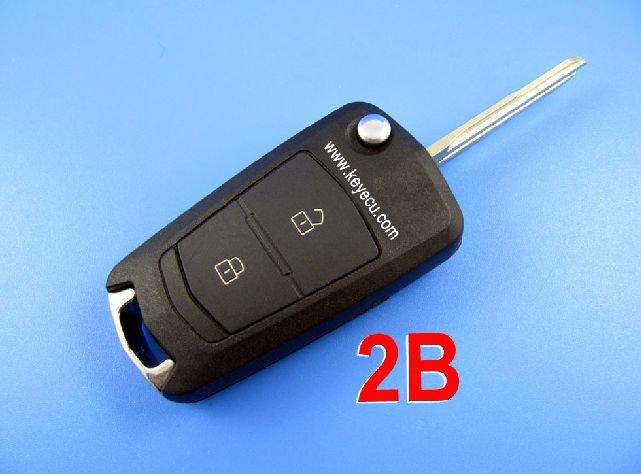 Hyundai Elantra virar botão remoto chave shell 2(China (Mainland))