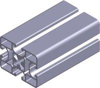 6pcs L1000mm for aluminium profiles P8 60 X 45  L