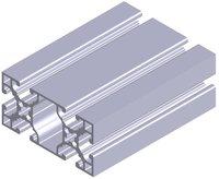 6pcs L1000mm for aluminium profiles H6 60 X 30R0  L