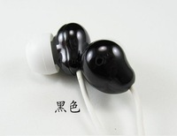 mini headphones Pea earphone Colorful In-Ear candy Earphone HP-CN12 Headphone wholesale 50pcs
