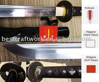 Free Shipping(1pcs) Fully Handmade Kobuse Katana Sword With T10 Steel Blade For Collection,Drop Shipping