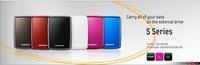 (Free Shipping) 500GB 2.5 Inch G2 Black Portable Pocket HDD,Hard Disk