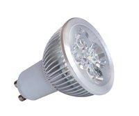 4*1W GU10 LED spotlight;dia 50*55mm;90lm/;warml white color
