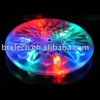 6 led disc coaster