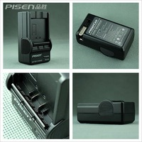 Pisen Digital camera charger for Panasonic VW-VBG130 DMW-BCF10E CGR-DU07 DU14 ect New 3pcs/lot