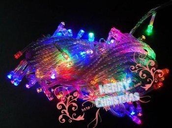 LED Christmas twinkle lights 10 meters colorful lights 100 lights