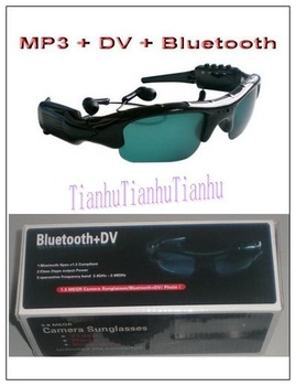 MP3+DV+Bluetooth sunglass,Sunglass with Camera+MP3+Bluetooth,Mini camera,Digital camera,Fashion popular sunglasses.