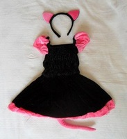 Wholesale Cosplay, Children's clothes/cat cat girl/performance apparel/Halloween costume