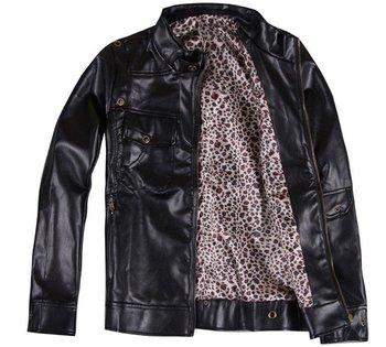 Hot Sale Men's Fashion Leather Jacket/Coat, Men's Cool Jacket MW0011