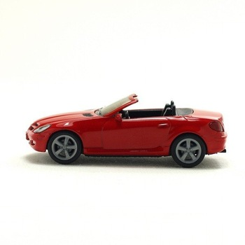 wholesale 5pcs/lot Brand New Red MERCEDES BENZ SLK 350 Car Die Cast Model 1:64 High Quality