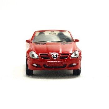 wholesale 5pcs/lot Brand New Red MERCEDES BENZ SLK 350 Car Die Cast Model 1:64 High Quality