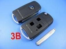 lexus flip remote key shell 3 button+free shipping by hkp+5pcs/lot