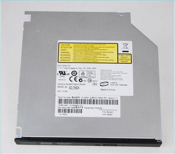 original brand name OPTIARC AD-7580A 8x DVD RW DUAL LAYER IDE DRIVE(China (Mainland))
