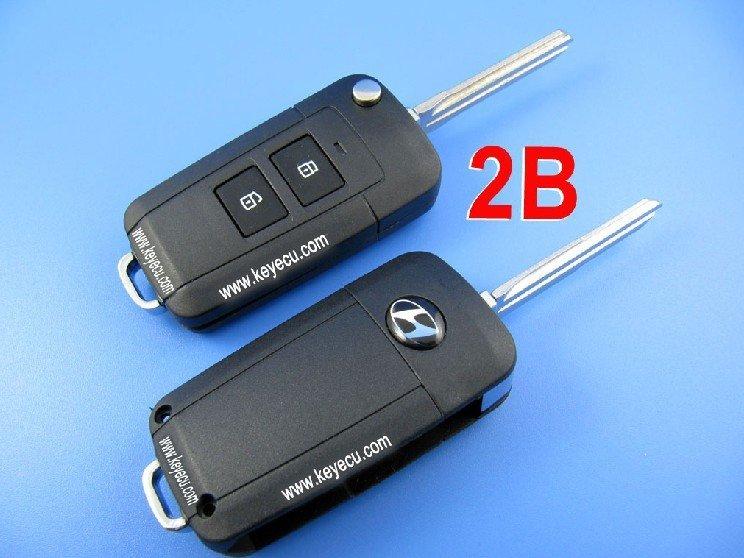 Hyundai elantra virar remoto chave shell 2 botão(China (Mainland))