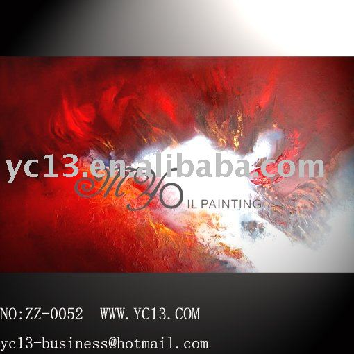 Free shipping Strong decoration effect 100%handmade abstract oil painting(China (Mainland))