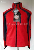 Men Windstopper Soft Shell Jacket Red, Gray, Black, Green, Blue,navy blue Brand New authentic