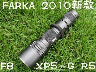 Nueva FARKA F8 F8 Nueva arma linterna gris actualizar XP - G R5 linterna luz