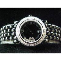 NEW ARRIVAL Elegant Diamond Black Ceramic Ladies Quartz:34MM