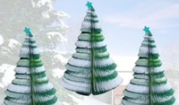 Free shipping New Christmas tree webapps/Creative webapps/Christmas message paper/Christmas gifts/Christmas webapps (20pcs)#5
