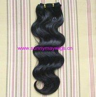 Fashion AAAA grade Malaysian virgin body wave weft hair
