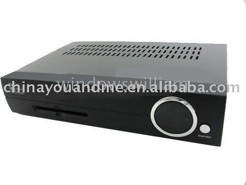 2pcs set top box OEM 500S DVB set top box 500S Digital Linux Set Top Box 500 satellite receiver(China (Mainland))