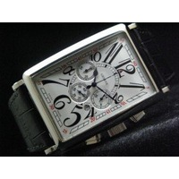 NEW ARRIVAL 'The Long Island' Fully StopWatch - White (FM40) MENS WATCH