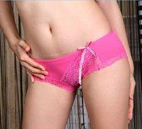 wholesale 100pc/lot Ms. underwear, cotton / Lycra cotton,Women Briefs ,Women sexy underwear (multicolor mixed wholesale) 543