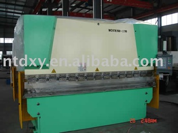 WC67Y-125/3200 hydraulic press brake