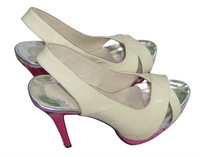 2010 New Arrival Hot Selling Sex appeal high heel red sole women's heels pumps shoes