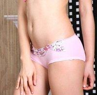 wholesale 100pc/lot 100%Cotton Women panties ,Women Briefs ,Women sexy  underwear (Wholesale multicolor mixed)