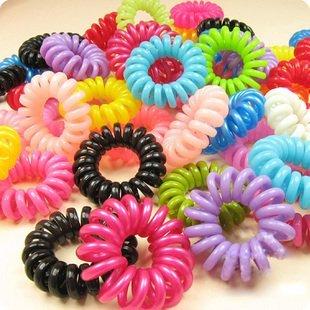 Free shipping Telephone Wire Hair Band Headband Elastic Nice gift