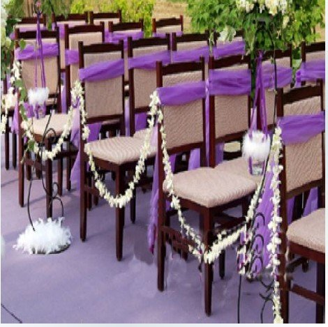 elegant and beatiful chair cover sash christmas and wedding favor 50pcs/lot+free shipping(China (Mainland))