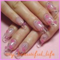 500pcs/bag Clear UV False Tips 4 Gel Acrylic  Half French Nail tips Free shipping