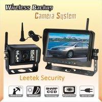 "FREE SHIPPING WHOLESALE 420tvl 1/3""Color Sharp CCD Vehicle reversing camera wireless  rear view Camera kit"