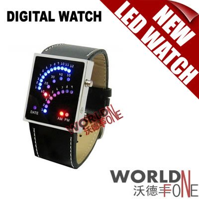 FREE SHIPPING!!! 5PCS/LOT FASHION WRISTWATCH LED DIGITAL WATCH SUPPORT 29 SUPER BRIGHT LED(China (Mainland))
