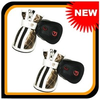 Brand New Protective Pet Dog White Sport Shoes Boots Sneakers 102488 & Free Shipping