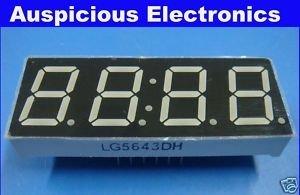 0.56'' 7 segment Red LED display common anode 1pcs