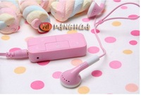 Colorful, cotton sugar  MP3 player, 2gb, lovely MP3, brand headphones FREESHIPPING