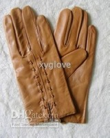 100% real leather fashion gloves for ladies Warm & winter gloves