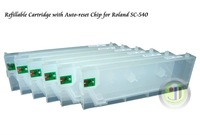 Jetyoung Refillable Cartridge For Roland SC-540 SC-500 SC545EX with Auto-Reset Chip -220ml