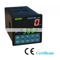 New Digital Counter 4 Digital Preset Scale Counter Tact switch C2S-R-24&Free shipping