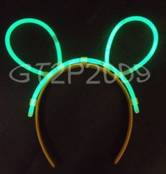 300 bags party light stick hairband at USD0.70/bag to Insonesia(China (Mainland))