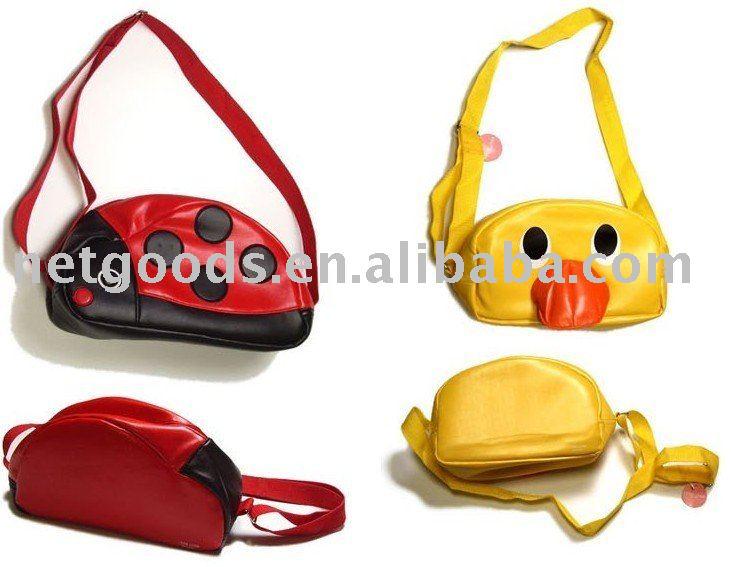 Nova chegada - saco criança Japão Linda Cartoon / sacos de mão / packsack / mochila / Aslant Bag(China (Mainland))