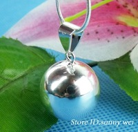 "HOT SELLING!!10pcs wholesale Angel Sound sterling silver Ball Necklace 26"",10pcs/lot,Hot!!"
