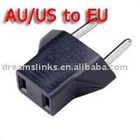 50PCS AU US USA to EU Europe Travel Charger Plug Adapter Conventer