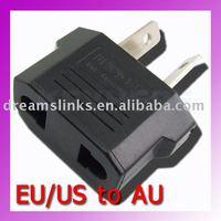 50PCS EU/US USA to AU plug Power Adapter Converter+Free Shipping